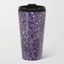 Sparkling ULTRA VIOLET Lady Glitter #2 #decor #art #society6 Travel Mug