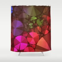 "diamonds Shower Curtains featuring ""Diamonds"" by Mr and Mrs Quirynen"