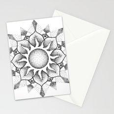Dotwork mandala Stationery Cards