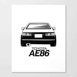 AE86 Canvas Print