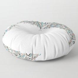 Migraine Aura Floor Pillow