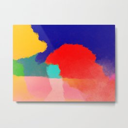 Paint III Metal Print