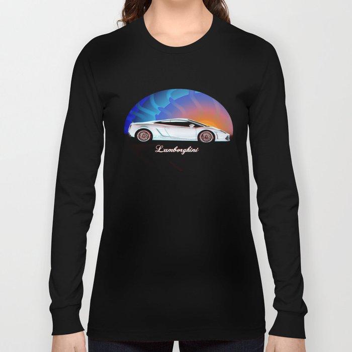 Lamborghin Gallardo Long Sleeve T-shirt