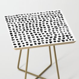 Watercolor Dots Side Table