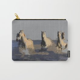 Horses of the Sea - Wild Horses Carry-All Pouch