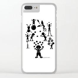 Jugglefest! Clear iPhone Case
