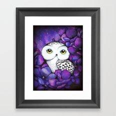 Snowy Owl Framed Art Print