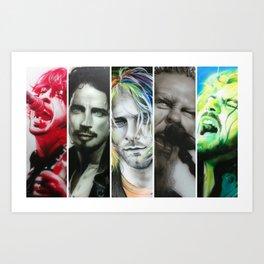 'Rock Montage I' Art Print