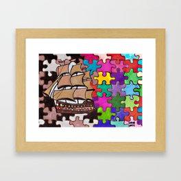 Ship #2 Framed Art Print