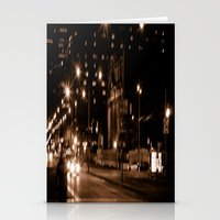 montreal Stationery Cards featuring Montreal Nights by Erin McClain Beck