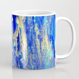 Gold & blue abstract d171013 Coffee Mug