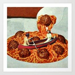 Meatballs Art Print