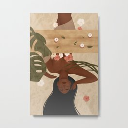 Fall in Love with taking care of Yourself Metal Print