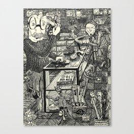 Hypno Thrift Canvas Print