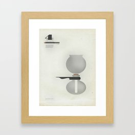 Coffee Contraption #4: Vacuum Framed Art Print