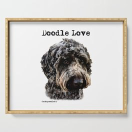 Doodle Love Serving Tray