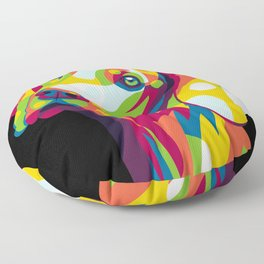 The Dog Portrait Floor Pillow
