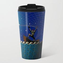 Night Net Fishin' Travel Mug