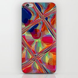 Re-Created  Glass Ceiling VIII by Robert S. Lee iPhone Skin