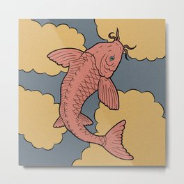 Kingyo - goldfish Metal Print