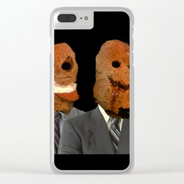Bad business Clear iPhone Case