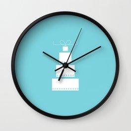 Wedding Cake Wall Clock