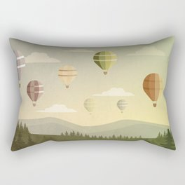 The Landscape I Rectangular Pillow