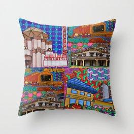 I Love Chico Bag #3 Throw Pillow