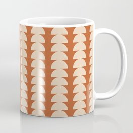 Maude Pattern - Vintage Orange Coffee Mug