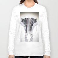 luke hemmings Long Sleeve T-shirts featuring Luke Wessman by Don Kuing