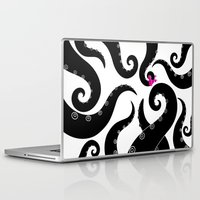octopus Laptop & iPad Skins featuring Octopus by S.Y.Hong