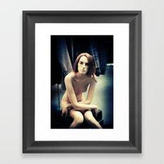 Nude Mannequin Framed Art Print