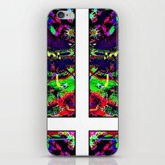 Satanic Acid - Digital Art piece iPhone & iPod Skin
