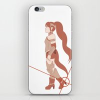 rwby iPhone & iPod Skins featuring Pyrrha Nikos [Weak Point] by TheKingKez