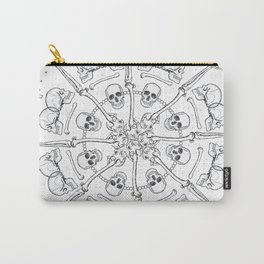 """""""Young Heart""""- We are the ocean // white mandala Carry-All Pouch"""