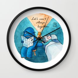 Let's can't sleep together Wall Clock