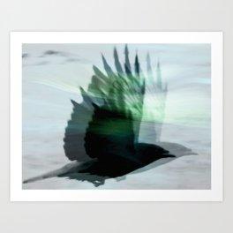GhostBird Art Print