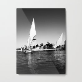 """Aswan Clouds"" Metal Print"