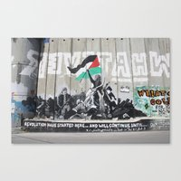 palestine Canvas Prints featuring Bethlehem, Palestine by cathleenphotos
