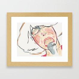Love Is A Two Way Street (Kimbra) Framed Art Print