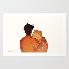 Percabeth Art Print