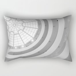 Guggenheim Interior   Frank Gehry   architect Rectangular Pillow