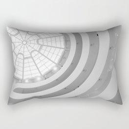 Guggenheim Interior   Frank Lloyd Wright Architect Rectangular Pillow