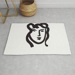 Face Girl by Henri Matisse Rug