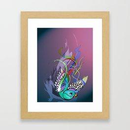 Julius (night version) Framed Art Print