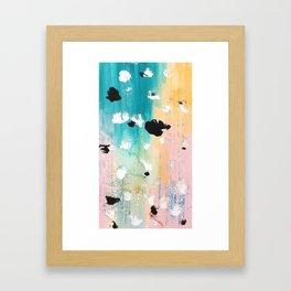 Blotchy Memories Framed Art Print