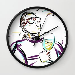can't you see im LEISURING! Wall Clock