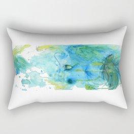 Aquatic Rush Rectangular Pillow