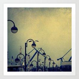 sea mood Art Print