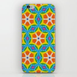 Fruity Retro Tropic iPhone Skin